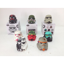 Set 8 Disney Vinylmation Star Wars Legion Casco Stormtrooper