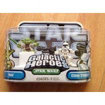 Star Wars Galactic Heroes Yoda Y Clone Trooper