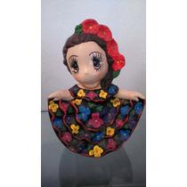 Muñecos De Ceramica Chiapanecas