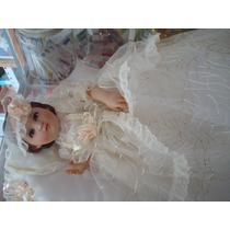 Divina Infantita Con Vestido 40cm Resina Porcelanizada