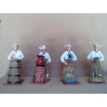 8 Figuras De Papel Mache Coleccion Fabricacion Del Tequila
