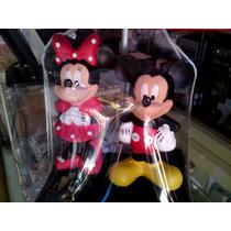 Lamparas De Mesa Infantiles - Micky/mimi, Hello Kitty, Hada