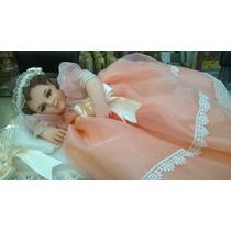 Divina Infantita De 35-40cm Resina Porcelanizada