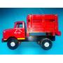 Camion De Madera Hecho A Mano, Antiguo 32 Lx13 Ax19 Alto Hm4