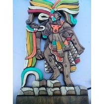 Tallados De Madera Cultura Maya Envios A Todo Mexico!!