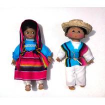Muñecos Tarascos Michoacan Mexico Tipicos, Figuras
