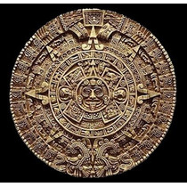 Calendario Azteca Tallado En Piedra Caliza! 100% Fabricantes