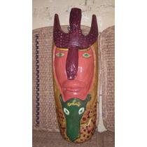 Mascaras Antiguas De Madera