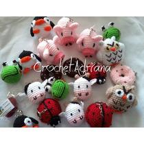 Llaveros O Colgantes Crochet Amigurumi Kawaii