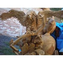 Aguila Tallada A Mano Fabricantes Directos
