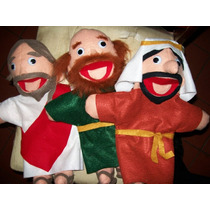 Gcg Lote De Titeres Biblicos Jesus Fariceo Dicipulo Bocon