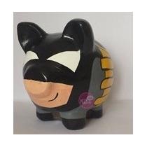 Alcancia Cerdito Puerquito Personalizada Batman Minion Jake