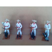 Coleccion Fabricacion Del Tequila Figuras De Papel Mache
