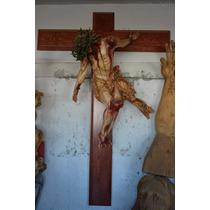 Cristo Tallado A Mano Somos Fabricantes Directos
