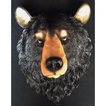 Cabeza De Animal De Oso En Resina Gmfr025