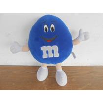 Peluche De Los Chocolates Mms Azul Emanems