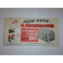 Vintage Raro Coleccionador Cofre De Monedas Gelatinas Jello