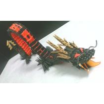 Dragón De Origami En 3d