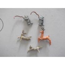 Ricolino,lote De Figuras De Animales Varios De Chocosorpresa