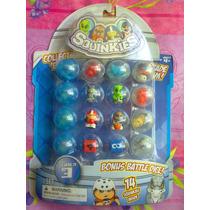 Squinkies Figuras Y Mounstruos Miniatura Serie 3