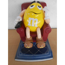 Dispensador Despachador Chocolate Amarillo Mm M&ms # 102