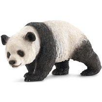 Oso Panda Gigante Schleich, Replica Original Pintado A Mano
