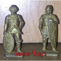 Huevo Kinder Lote D Figuras De Metal Checalos
