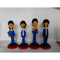 The Beatles Figuras En Resina
