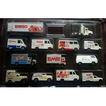 Colección De Camioncitos Bimbo Nueva Y Completa Del Año 1996