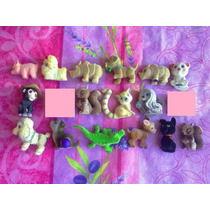Figuras Miniatura De Animales Aterciopelados