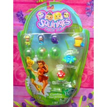 Tinker Bell Y Hadas Set De Serie 1 Figuras Squinkies Miniat
