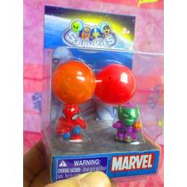 Marvel Set De Figuras Squinkies Miniatura Modelo 1