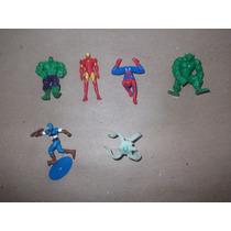 Kinder Sorpresa,lote De Figuras De Superheroes