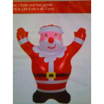 Figura Inflable De Santa Claus De Navidad