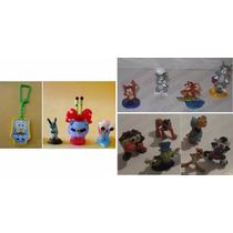 Kinder Sorpresa * 14 Juguetes De Varios Personajes Animados