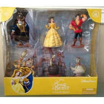 Parques Disney La Bella Y La Bestia De Colección Estatuilla
