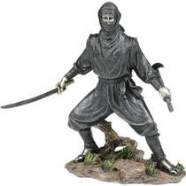 Figura De Coleccion Ninja C/ Espada Y Kama