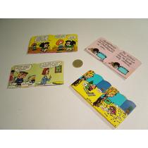 Vintage Cajitas Para Dulces Cartón De Mafalda 4 Piezas Set 3