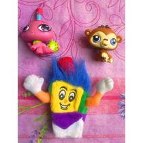 Figuras Miniatura De Littles Pet Shop Y Pelon