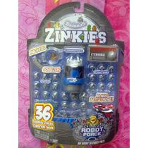 Fuerza Robot Set Squinkies Figuras Miniatura