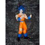 Figura Dragon Ball Z Gt Vegeta Goku Super Sayayin Dios Saya
