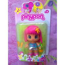 Pinypon Munequita Pelo Rosa Modelo 19