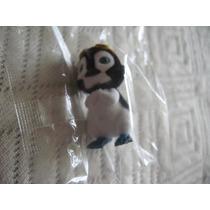 Hermosa Mini Figura De Pinguino Tipo Peluche