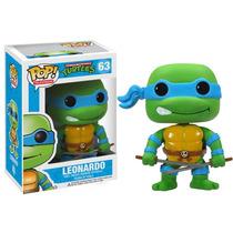 * Funko Pop! Leonardo #63 Tortugas Ninja