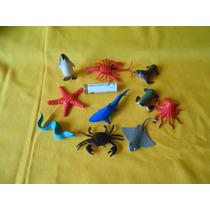 Lote Animales Marinos, Bien Echas,figuras,maqueta.