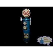 Bomba Gasolina Chica Mini Usa Alcancia Vintage Retro Metal