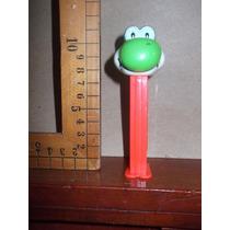 Pez Dispensador,figura De Yoshi De Mario Bros.