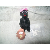 Gcg Memin Negrito Cagon Rosa Retro Con Su Pasta Y Borrador