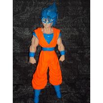 Figura Grande Dragon Ball Z Goku Super Sayayin Dios Saya Luz