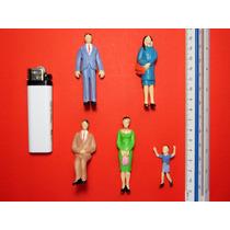 5 Figuras Humanas Escala G 1:25 Maquetas Arquitectura Tren